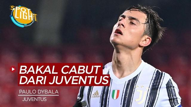 Berita video Spotlight kali membahas tentang Paulo Dybala dan 3 pemain yang bisa meninggalkan Juventus di Januari 2021.