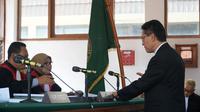 James Riady dalam persidangan di Pengadilan Tipikor Bandung