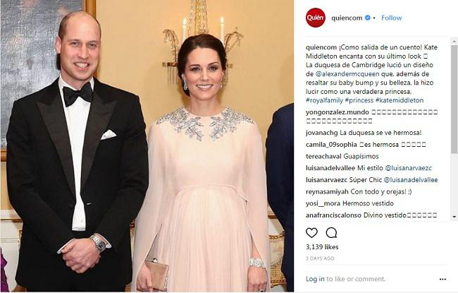 Kate Middleton/copyright instagram
