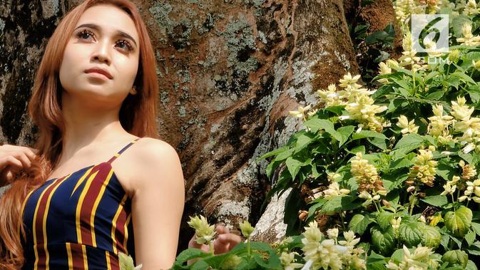 Hasil kamera Oppo Reno 10x Zoom untuk memotret model, dengan mode zoom 6x (Liputan6.com/ Agustin Setyo W)