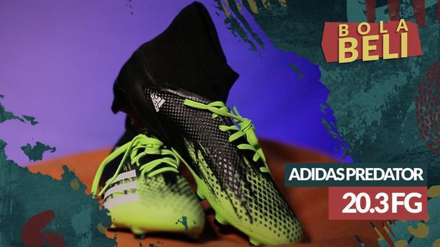 Berita video Bola Beli kali ini mengulas sepatu bola Adidas Predator 20.3 FG yang memiliki beberapa keunikan. Apa saja keunikannya?