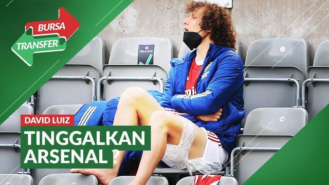 Berita video bursa transfer, David Luiz akan tinggalkan Arsenal akhir musim ini.