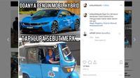 Berbagai hal bisa dijadikan Meme menarik, tidak terkecuali yang berkaitan dengan otomotif.