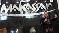 Wali Kota Mohammad Romdhan Pomanto menggelar pertemuan dengan kalangan sineas Makassar. (Liputan6.com/Eka Hakim)