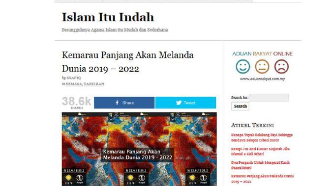 Screenshot: Cek Fakta - Kemarau Panjang. (Liputan6.com)