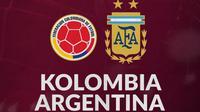 Kualifikasi Piala Dunia - Kolombia Vs Argentina (Bola.com/Adreanus Titus)