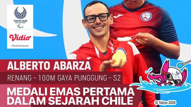 Berita video highlights atlet Chile, Alberto Abarza, mencetak sejarah di cabang olahraga renang di Paralimpiade Tokyo 2020, Rabu (25/8/2021).