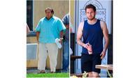 Transformasi pria obesitas (Sumber: Boredpanda)