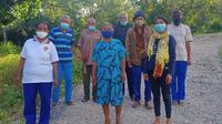 Para lansia yang tergabung dalam Posyandu Lansia Feto Mone. Foto: Instagram @ambuaninobeh.