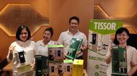 Konferens pers Tissor perkenalkan kunci digital ke Indonesia (Liputan6.com/Agustinus M.Damar)