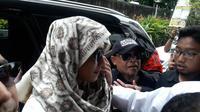 Habib Bahar bin Smith memenuhi panggilan penyidik Bareskrim Mabes Polri. (Merdeka.com/ Nur Habibie)