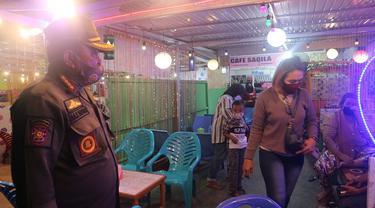 operasi yustisi penegakan prokes di Kota Palu