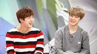 Jimin dan Jin `BTS` (Naver)