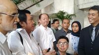 Nasabah Jiwasraya datangi Kantor Kementerian Keuangan (Kemenkeu). (Liputan6.com/Athika Rahma)