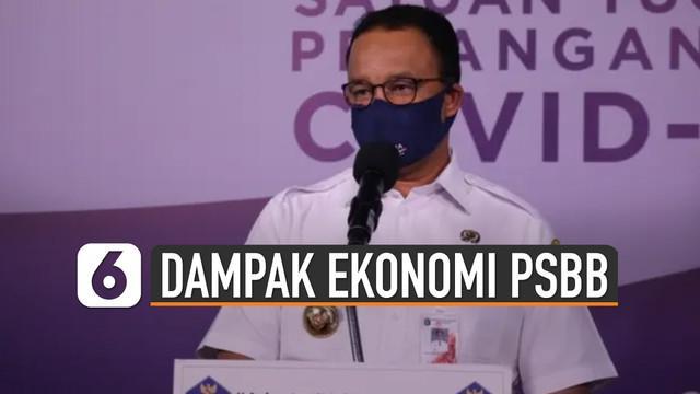 Gubernur DKI Jakarta Anies Baswedan kembali aktifkan PSBB tanggal 14 September 2020. Tetapi PSBB DKI perlu perhatikan dampak ekonomi.
