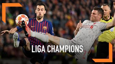 Peluang Liverpool melaju ke final Liga Champions menipis usai menyerah dibantai Barcelona 0-3 Kamis (2/5) Dini Hari. Tiga gol Barcelona berasal dari dua nama, yakni Luis Suarez dan Lionel Messi.