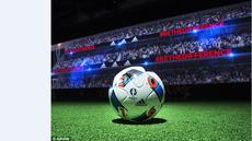 Bola resmi Piala Eropa 2016 yang diberi nama Beau Jeu resmi diluncurkan pada hari Kamis (12/11/2015). (Adidas)