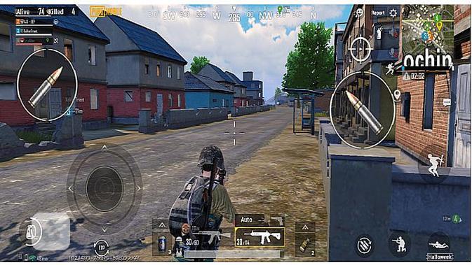 PUBG Mobile di Vivo V20 (screenshot)