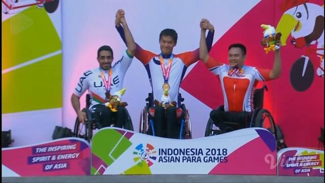 Perjuangan gigih para atlet Asian Para Games 2018 terangkum dalam sebuah video mengharukan.