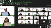 Penandatanganan perjanjian kerja sama pembiayaan Bank Permata dan Akulaku Finance Indonesia (Dok: Bank Permata)