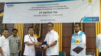 PT PLN memasok listrik untuk fasilitas pertambangan Bauksit PT Aneka Tambang (Persero) di Tayan, Kalimantan Barat. Liputan6.com/Pebrianto Eko Wicaksono