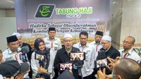 Ketua Rombongan Haji Malaysia 1440H Dato Sri Syed Saleh Syed Abdul Rahman . Bahauddin/MCH