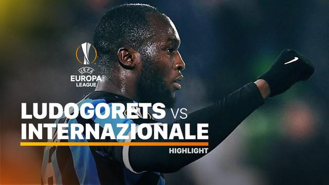 Berita video highlights leg I babak 32 Besar Liga Europa 2019-2020, Ludogorets vs Inter Milan, yang berakhir dengan skor 0-2, Kamis (20/2/2020).