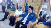 Pasangan bakal calon (Balon) Bupati dan Wakil Bupati Garut, Jawa Barat, Agus Supriadi dan Imas Aan Ubudiyah. (Liputan6.com/Jayadi Supriadin)