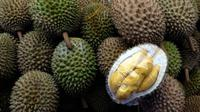 Ilustrasi durian (AFP)