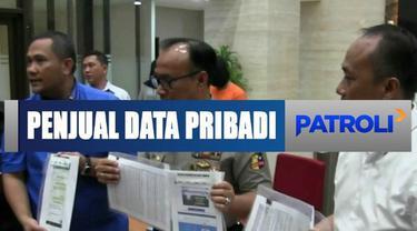 Direktorat Tindak Pidana Siber tangkap penjual data pribadi melalui website di Depok, Jawa Barat.