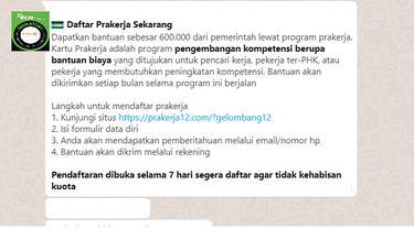 Informasi cara mendaftar kartu Prakerja gelombang 12 lewat situs prakerja12.com