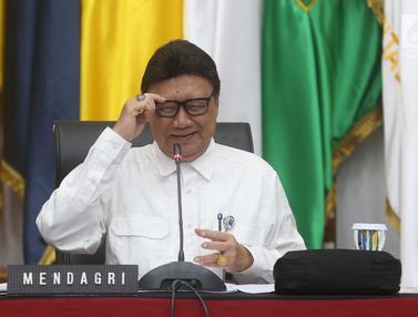 Mendagri Pimpin Rapat Laporan Akhir Tahun 2018 Kemendagri dan BNPP