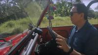 Ahok Berkeliling Pulau Dewata Pakai Volkswagen Safari (foto: Vlog BTP)