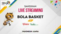 Live streaming cabang olahraga bola basket SEA Games 2017. (Bola.com/Dody Iryawan)