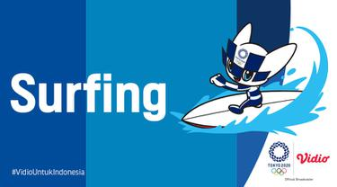 cabang olahraga selancar (surfing) Indonesia di Olimpiade Tokyo 2020