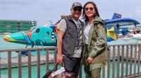 Maia Estianty dan Irwan Mussry saat honeyymoon di Maldives (dok. Instagram @maiaestiantyreal/https://www.instagram.com/p/Bw4T5Ahl67U/Fairuz Fildzah)