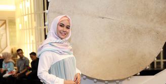 Setahun belakangan ini artis cantik Anisa Rahma mengubah tampilan berbusananya, yakni dengan mengenakan hijab. Tampak semakin cantik setelah berhijab, Anisa  pun punya pandangan sendiri soal hijab. (Nurwahyunan/Bintang.com)