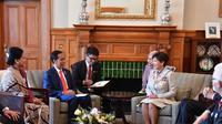 Presiden Jokowi bertemu Gubernur Jenderal Selandia Baru (Foto: Biro Pers Sekretariat Presiden)
