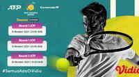 Jadwal dan Live Streaming ATP BNP Indian Wells Paribas Open di Vidio Pekan Ini. (Sumber : dok. vidio.com)