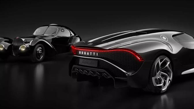 La Voiture Noir (Mobil Hitam). Dok: Bugatti