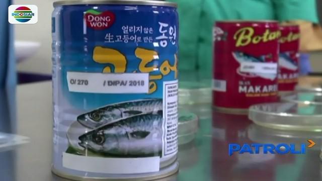 BPOM Surabaya lakukan uji coba sampil terhadap 20 merek sarden kemasan kaleng. Hasilnya, 7 dari jumlah dinyatakan mengandung cacing parasit.