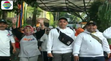 Kegiatan digelar di area car free day yang dilepas langsung Menteri Pendidikan dan Kebudayaan Muhadjir Effendhy.