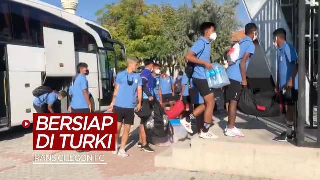 Berita video klub Liga 2, RANS Cilegon FC, dalam tahap persiapan awal di Turki untuk menghadapi 2 tim lokal.