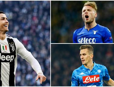 Top scorer sementara Serie A