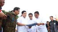 Menteri BUMN Erick Thohir di Pelabuhan Benoa, Bali (dok: Tira)