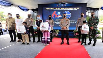 Program Orang Tua Asuh Ditlantas Jatim, Sasar 7.044 Anak Terdampak Covid-19