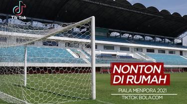 Berita Video TikTok Bola.com, Jangan ke Stadion! Saksikan Piala Menpora 2021 Hanya di Indosiar dan Vidio