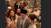 Cut Tari dan Richard Kevin resmi menikah hari ini Kamis (12/12/2019) dan resepsi dilakukan di Taman Kadjoe, Ampera, Jakarta Selatan. (Sumber: Instagram/@carol_18s)