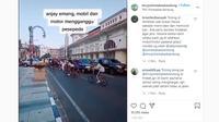 sepeda lawan arus (Instagram)