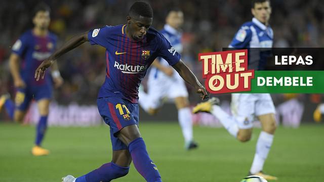 Berita video Time Out kali ini tentang Barcelona yang dikabarkan melepas pemain ke Liverpool, yaitu Ousmane Dembele.